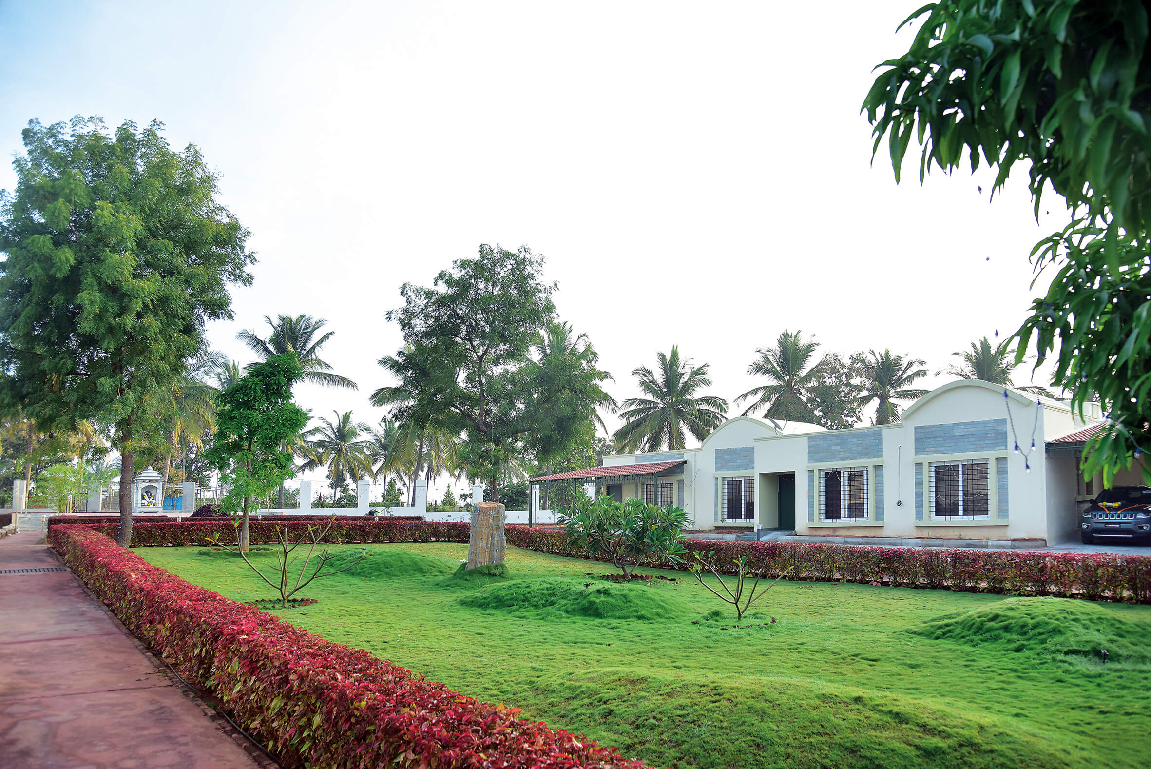 Flower Garden and Open Space - Sree Senior Homes