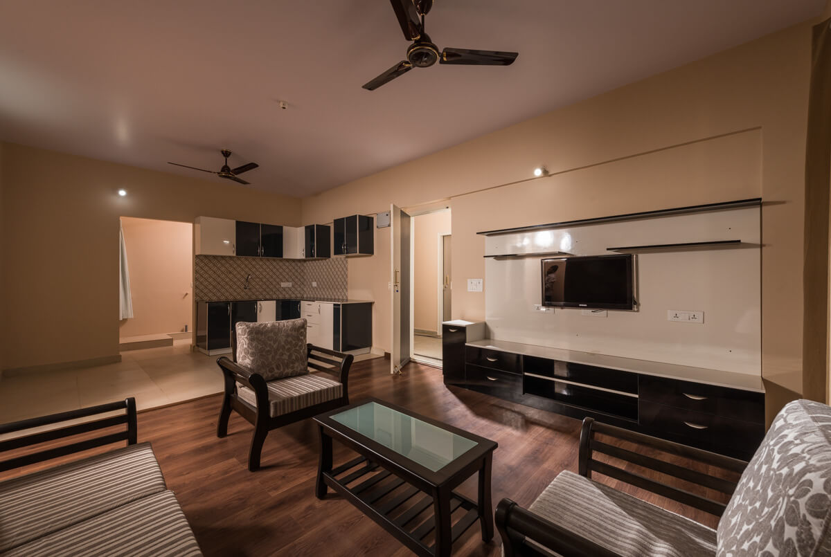 Extra Large Living Room for Senior Residence - Sree Senior Homes