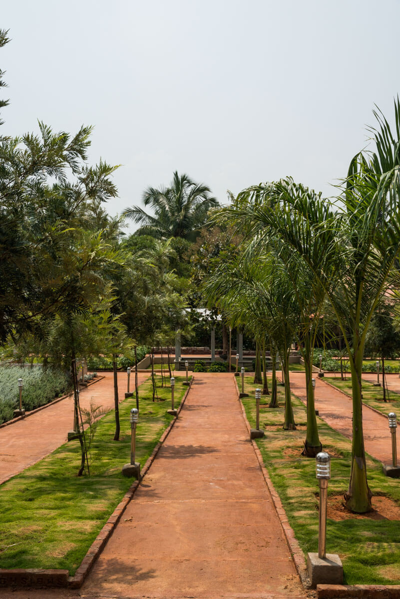 Walking Pathway in Garden - Sree Senior Homes