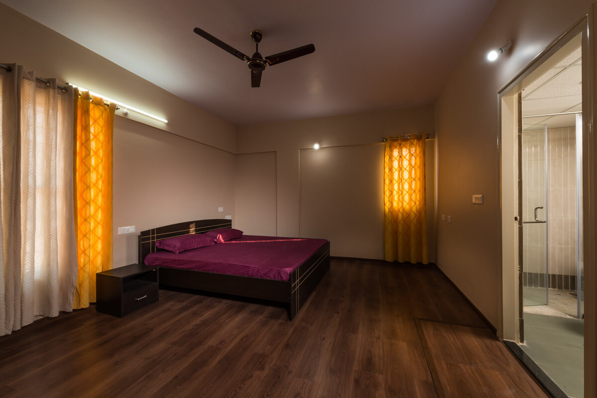 Extra Spacious Bedroom for Retirement Community - Sree Senior Homes