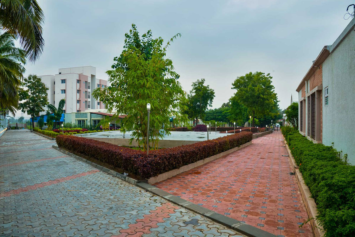 Garden and Open Spaces - Sree Senior Homes